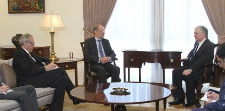 Armenian FM Spoke with Special Representative of the OSCE Chairperson-in-Office for South Caucuses