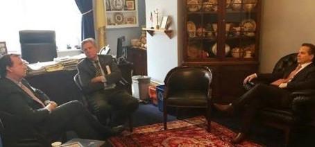 Congressional Armenian Issues Caucus Members Meet with U.S. Ambassador to Armenia