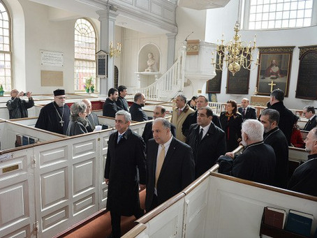 Armenian President Serzh Sargsyan Visits Massachusetts