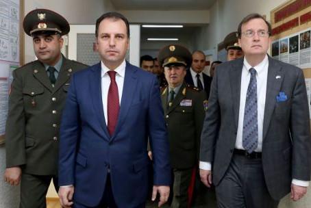 Armenian Military Opens New U.S.-Backed Facility