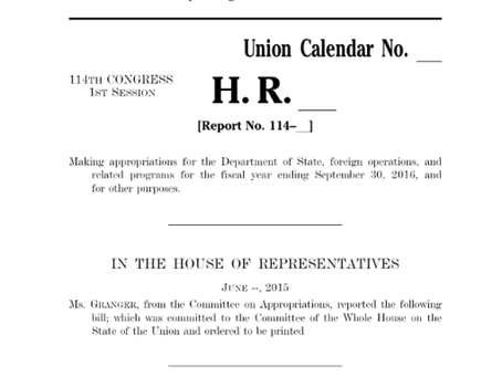 What's in the House Appropriations Committee Report That Matters to Armenian Americans?