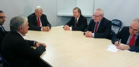 Edward Nalbandian Meets OSCE Minsk Group Co-chairs