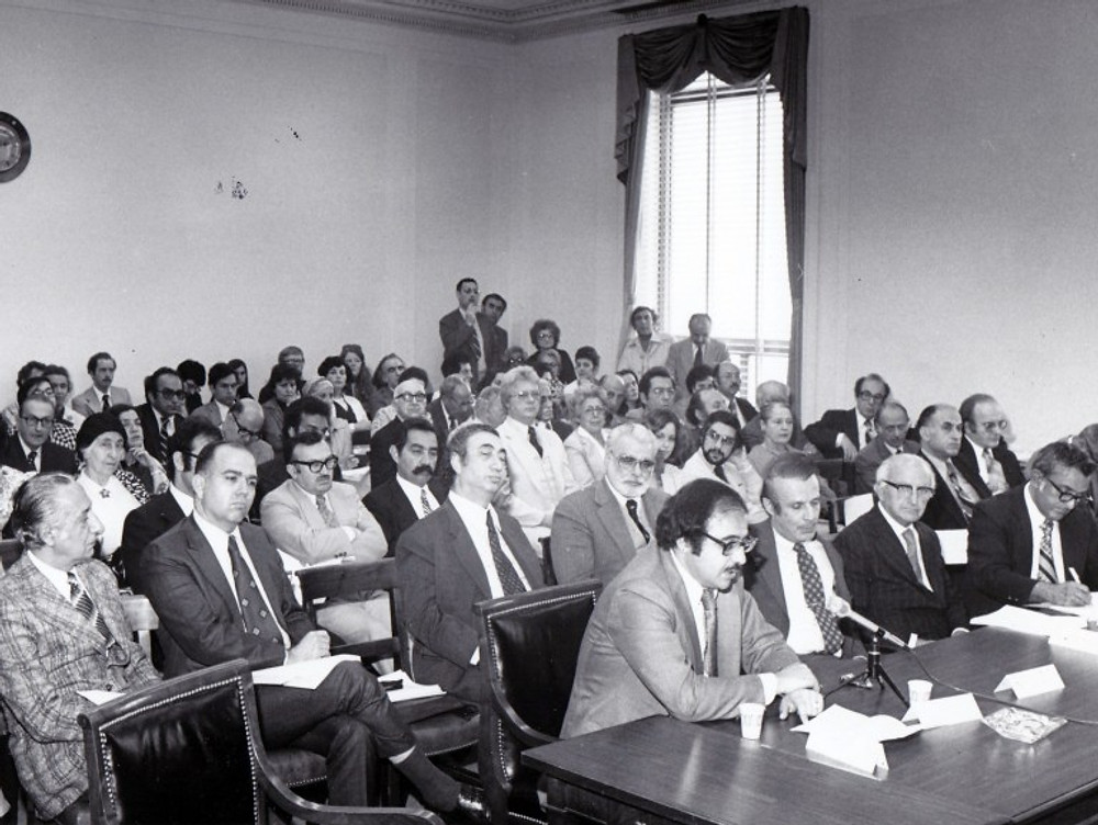 First hearing on Armenian Genocide 2
