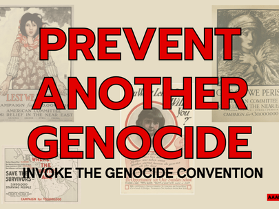 Armenian Assembly of America Urges U.S. Leadership to Prevent Another Genocide