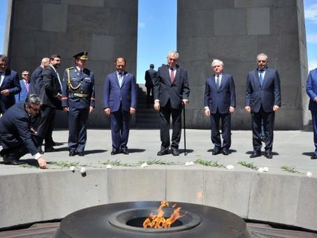 Czech President Wants Parliament To Recognize Armenian Genocide