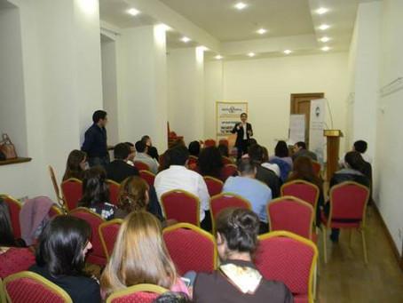 Armenian Assembly's Yerevan Office Youth Club Hosts Entrepreneur Workshop