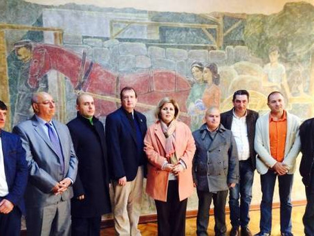 Amb. Mills Unveils US State Dep.-Funded Armenian Cultural Preservation Projects in Gyumri, Dashtadem