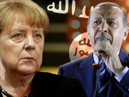 Angela Merkel's government says it has PROOF Turkey is SUPPORTING Islamic State AND Hamas