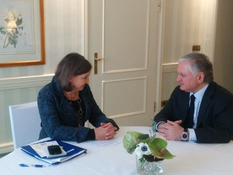 Edward Nalbandian Meets with Victoria Nuland