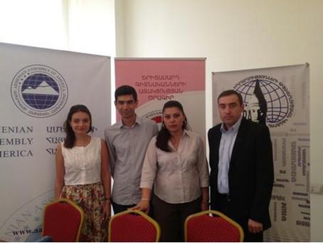 Armenian Assembly Yerevan Office Hosts Briefing on Turkey, Iran & Syria