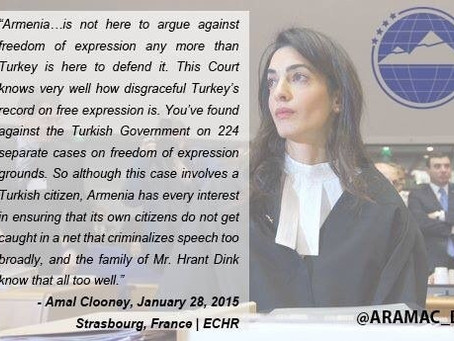 Statement by Amal Clooney in European Court of Human Rights