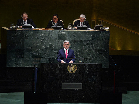 President Serzh Sargsyan Addresses 69th Session of United Nations General Assembly