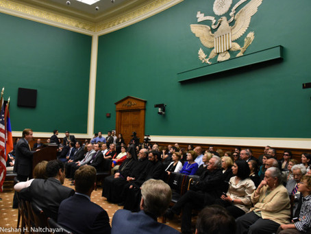 Armenian Assembly, Members of Congress Commemorate 101st Anniversary of Armenian Genocide