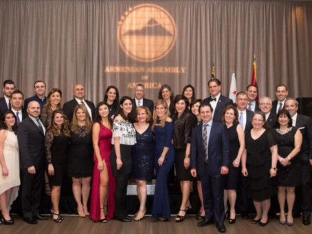 Armenian Assembly's Gala Honors Past and Present Interns