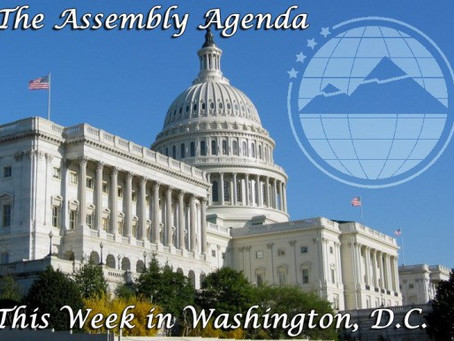 The Assembly Agenda: This Week in Washington DC: June 2-5, 2015