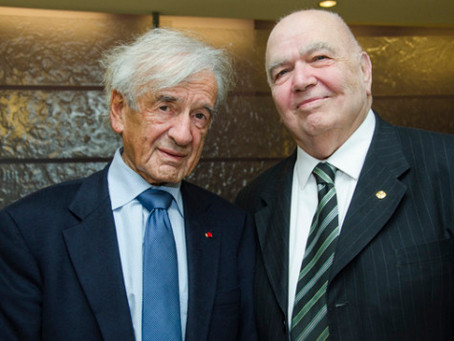 Elie Wiesel Remembered by Armenian National Institute