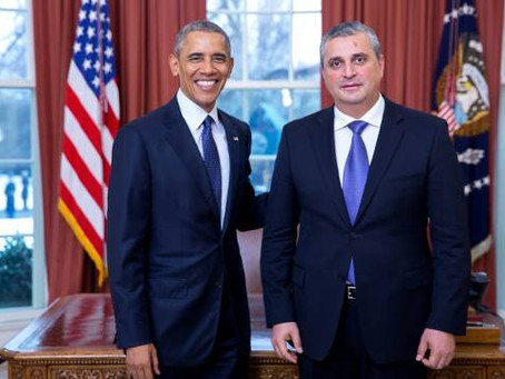 New Armenian Ambassador Hovhannissian Presents Credentials to President Barack Obama
