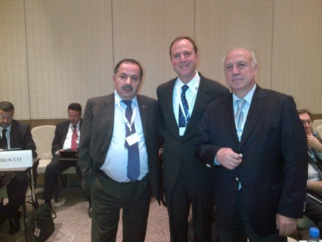 Rep. Schiff Votes in Support of Armenia's Amendments on Syria & Karabakh at OSCE Parliament Assembly