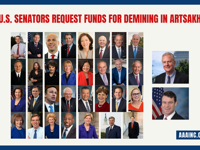 U.S. Senators Request Funds for Demining in Artsakh
