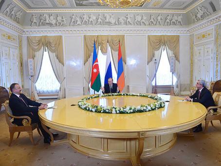 Armenia, Azerbaijan Presidents Held Second Meeting on Nagorno Karabakh