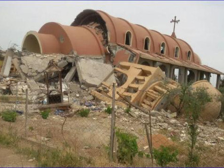 List of Assyrian, Armenian, and Other Churches Destroyed in Syria
