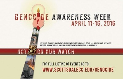 Scottsdale Community College To Hold 4th Annual Genocide Awareness Week