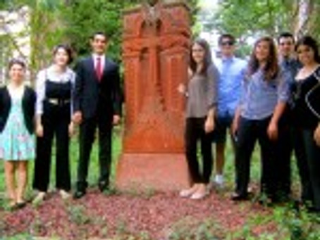 Photos: Assembly Interns Met with Armenian Ambassador to the U.S. and Community Leaders