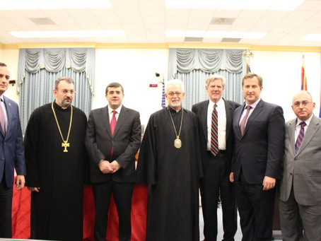 Armenian Assembly Honors 25th Anniversary of Artsakh's Independence on Capitol Hill