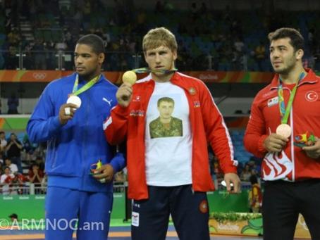 Armenian Wrestler Artur Aleksanyan Wins Olympic  Gold Medal