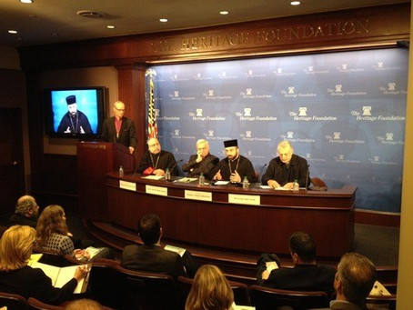 Plight of Christians, Armenians in Syria Focus of Heritage Foundation Panel Discussion