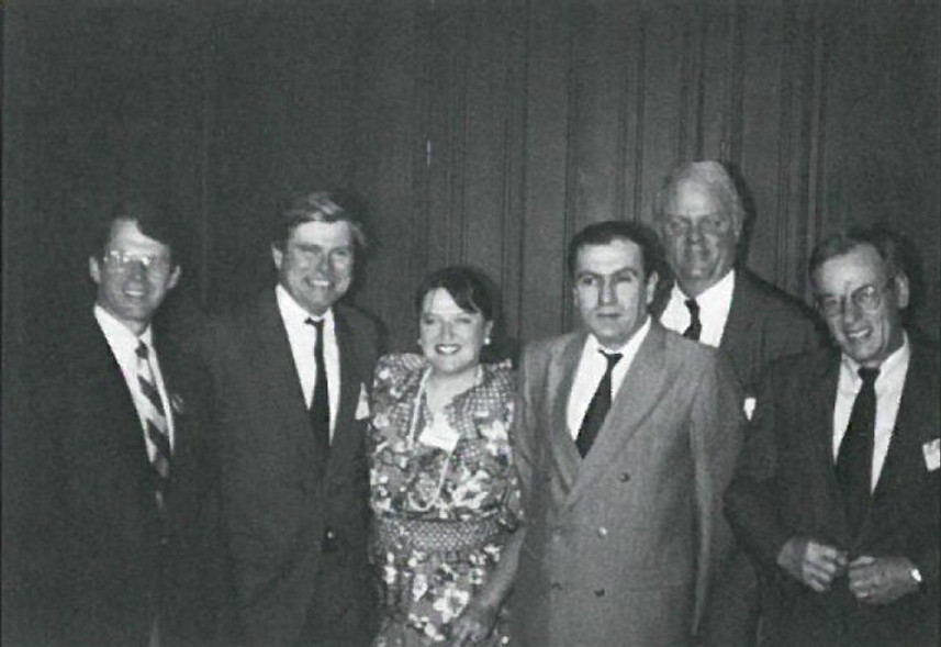 Congressional Delegation led by Rep. Wayne Owens in Armenia to observe independence referendum 1991.jpg