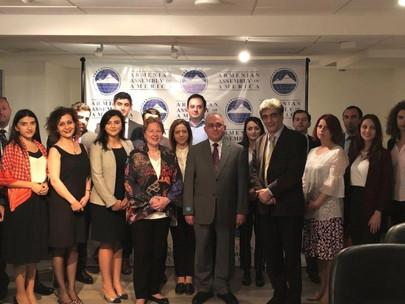 Armenian Assembly Pays Tribute To Late Armenian Ambassador Rouben Shougarian
