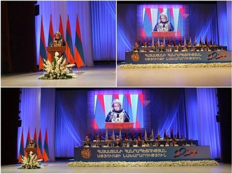 Armina Darbinian Address 5th Annual Armenia-Diaspora Conference in Yerevan