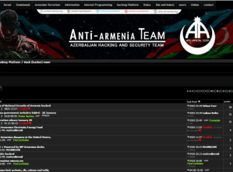 Armenian Assembly Website Hacked by Azerbaijan