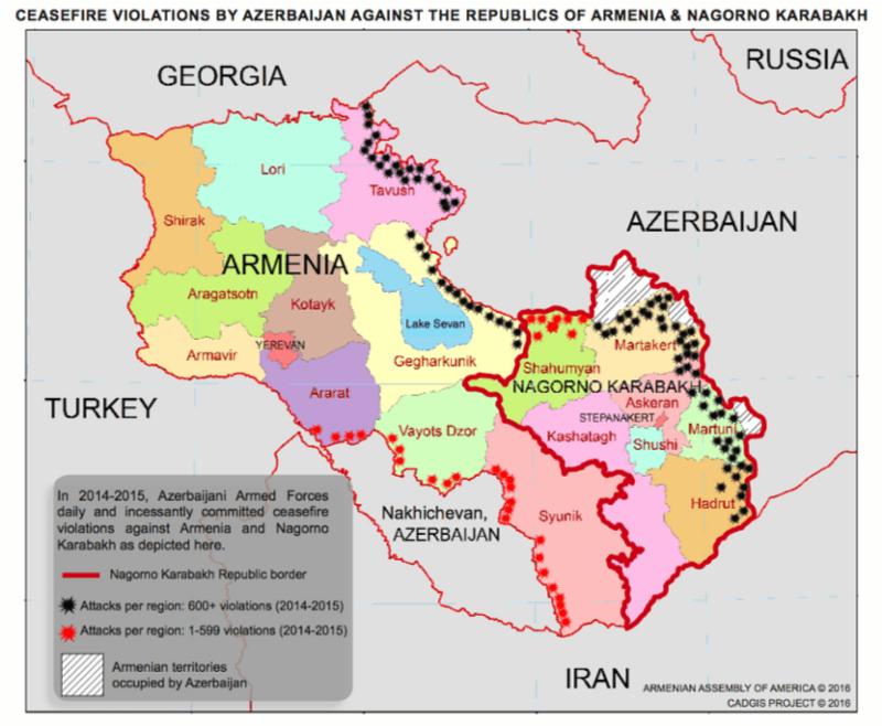 Nagorno Karabakh CFV Map