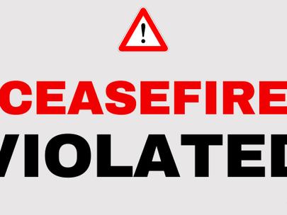 UPDATE: Azerbaijan Violates Ceasefire