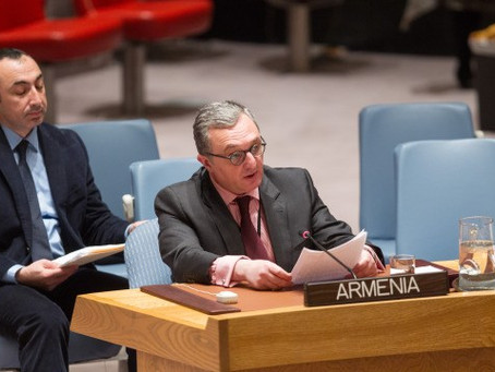 Ambassador Mnatsakanyan Participated in UNSC Open Debate: Protection of Civilians in Armed Conflict