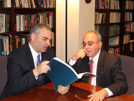 ANI Armenian Genocide Library Opens, Special Remarks by Armenian Genocide Museum-Institute Director
