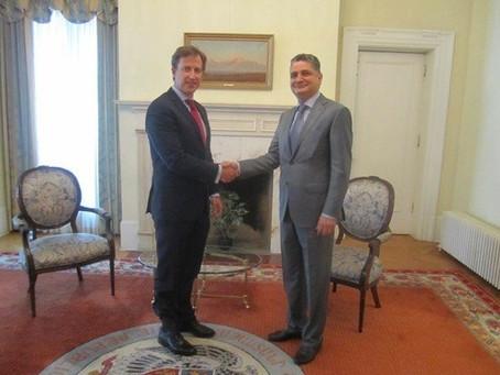 Armenian Assembly of America Welcomes New Armenian Ambassador to Washington
