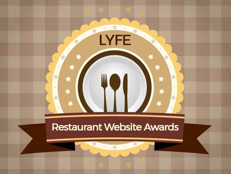 11 Best Restaurant Websites: LYFE Agency Awards