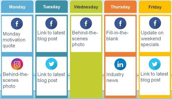 social calendar