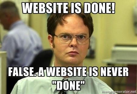 professional website design
