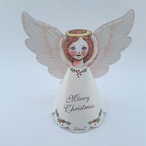 'Merry Christmas'  -  5 Deleena Angels