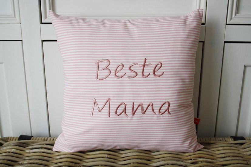 Muttertagskissen - Beste Mama