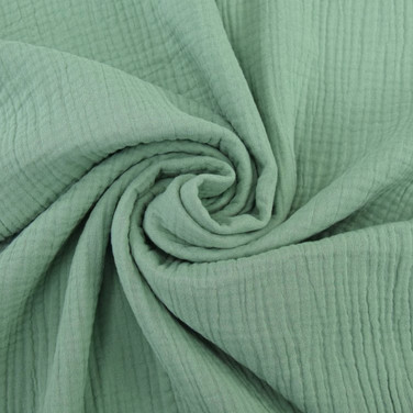 Musselin blassgrün