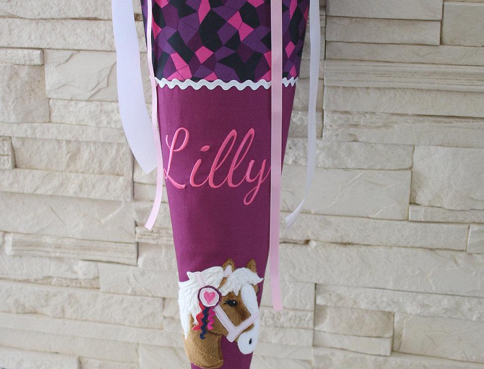 Schultüte - Ponny Lulu mit Name