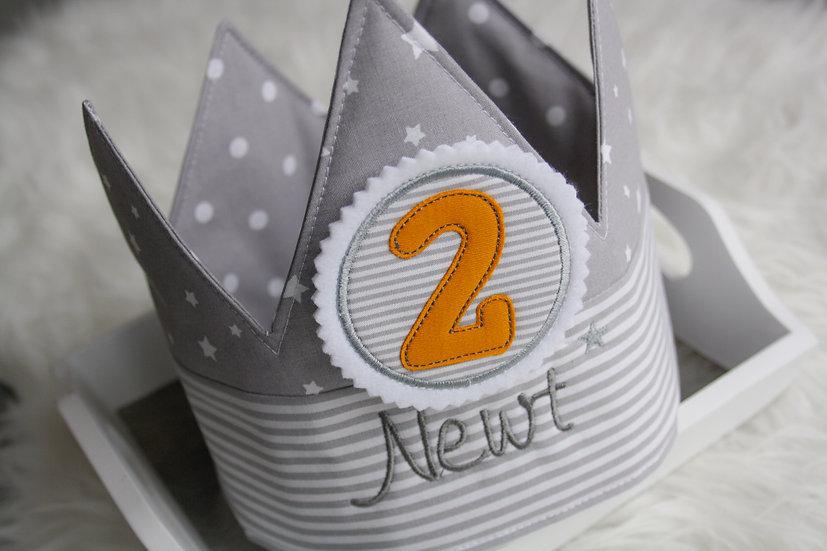 Geburtstagskrone - zweifarbig