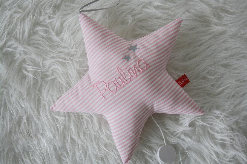 Spieluhr - Stern mit Name