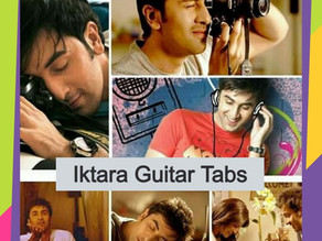 Iktara Guitar Tabs – Wake Up Sid | Amitabh Bhattacharya & Kavitha Seith