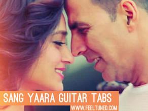 Tere Sang Yaara Guitar Tabs   Movie – Rustom   Atif Aslam   Feeltuned